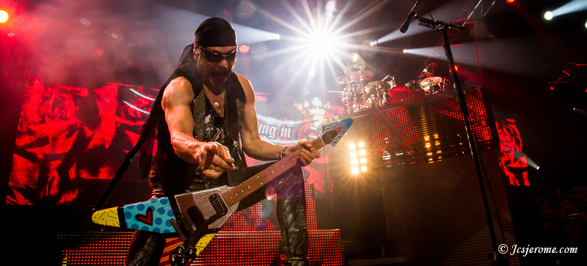 Scorpions @ Zenith de Pau – 10/11/2012